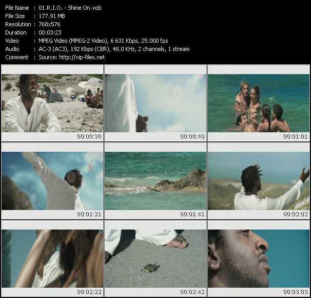 R.I.O. HQ Videoclip «Shine On»