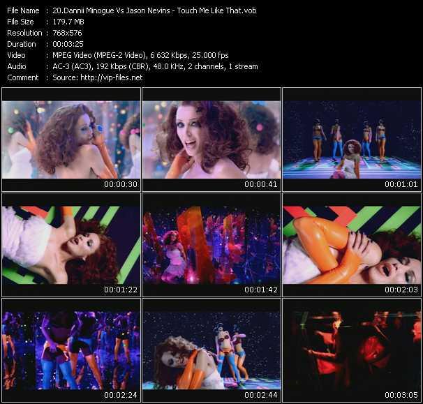 Dannii Minogue Vs. Jason Nevins HQ Videoclip «Touch Me Like That»