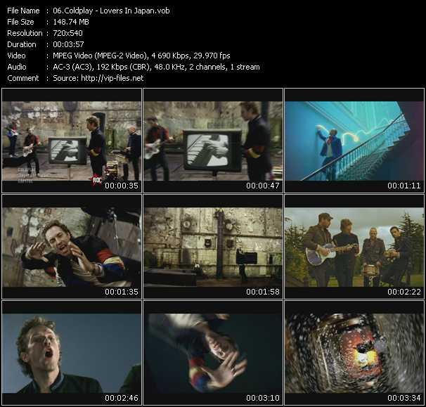 Coldplay HQ Videoclip «Lovers In Japan»