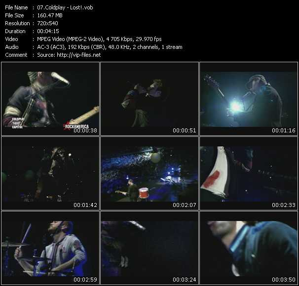 Coldplay HQ Videoclip «Lost!»