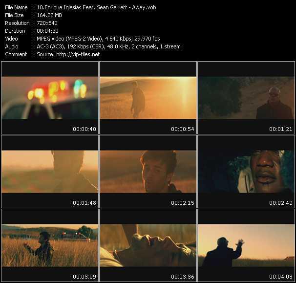 Enrique Iglesias Feat. Sean Garrett HQ Videoclip «Away»