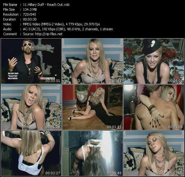 Hilary Duff HQ Videoclip «Reach Out»
