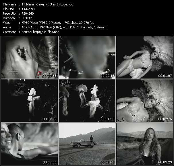 Mariah Carey HQ Videoclip «I Stay In Love»