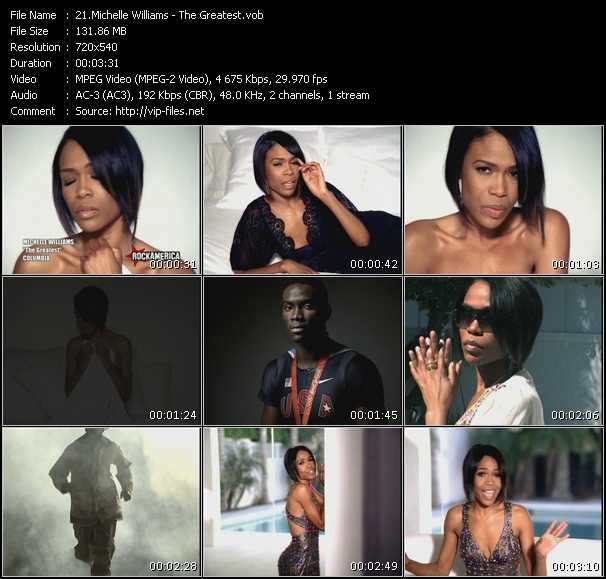 Michelle Williams HQ Videoclip «The Greatest»