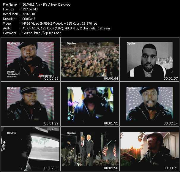 Will.I.Am HQ Videoclip «It's A New Day»