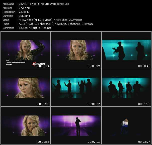 Filly HQ Videoclip «Sweat (The Drip Drop Song)»