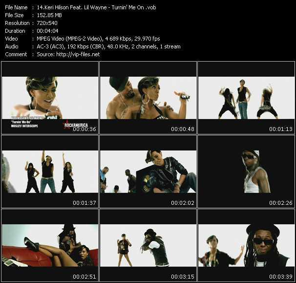 Keri Hilson Feat. Lil' Wayne HQ Videoclip «Turnin' Me On»