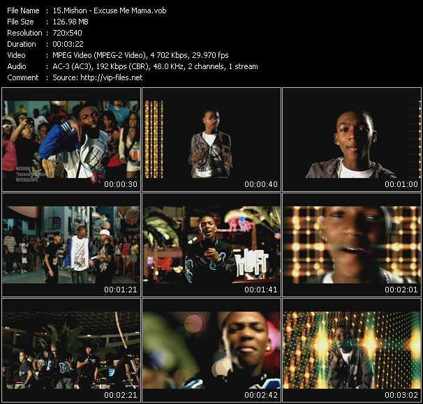 Mishon HQ Videoclip «Excuse Me Mama»