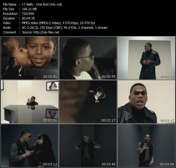 Nelly HQ Videoclip «One And Only»