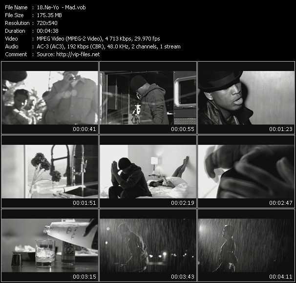 Ne-Yo HQ Videoclip «Mad»