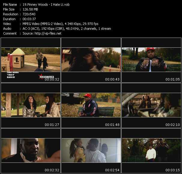 Pinney Woods HQ Videoclip «I Hate U»