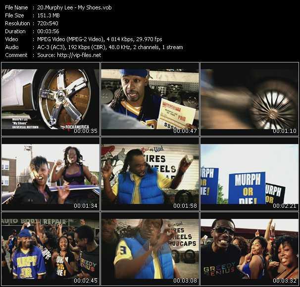 Murphy Lee HQ Videoclip «My Shoes»