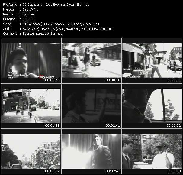 Outasight HQ Videoclip «Good Evening (Dream Big)»