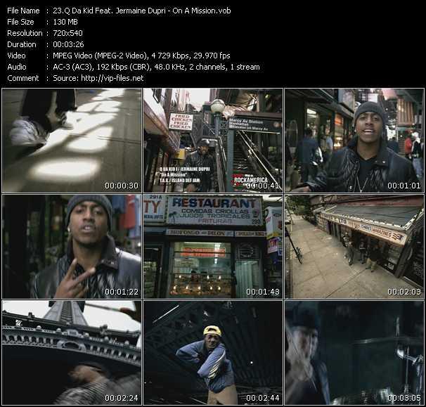 Q Da Kid Feat. Jermaine Dupri HQ Videoclip «On A Mission»