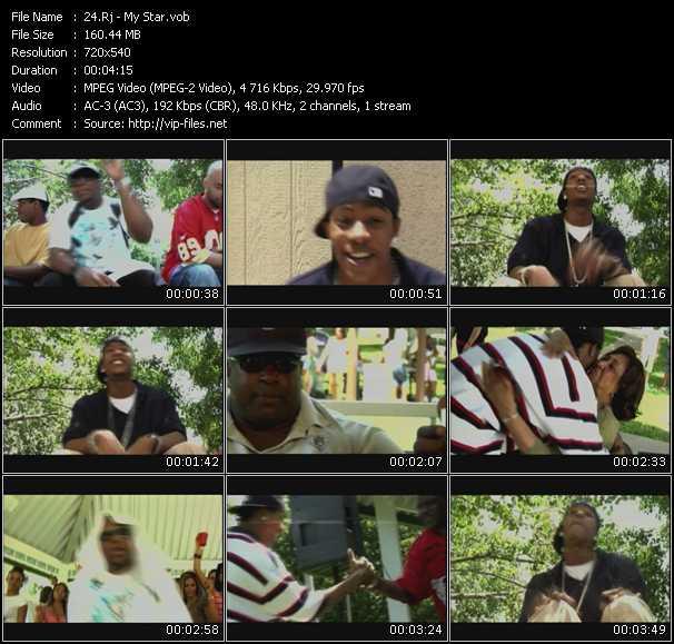 Rj HQ Videoclip «My Star»