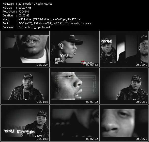 Skooda HQ Videoclip «U Feelin Me»