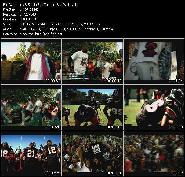 Soulja Boy Tell 'Em HQ Videoclip «Bird Walk»