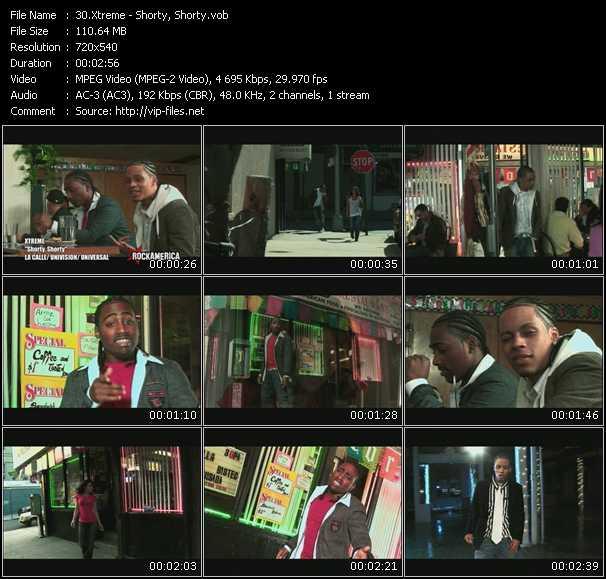 Xtreme HQ Videoclip «Shorty, Shorty»