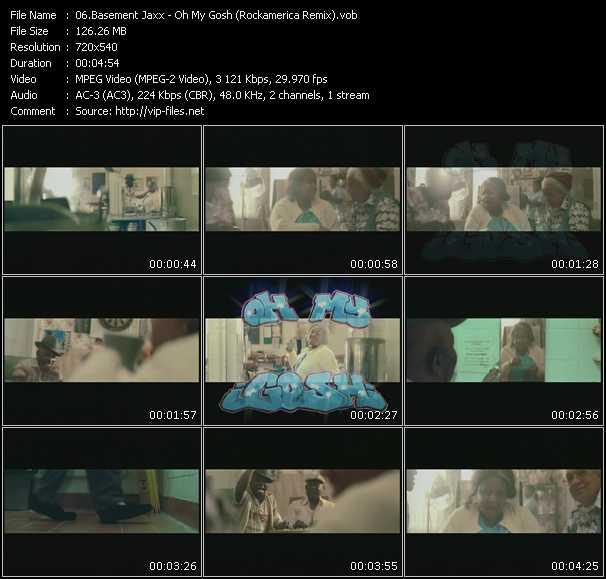 Basement Jaxx HQ Videoclip «Oh My Gosh (Rockamerica Remix)»
