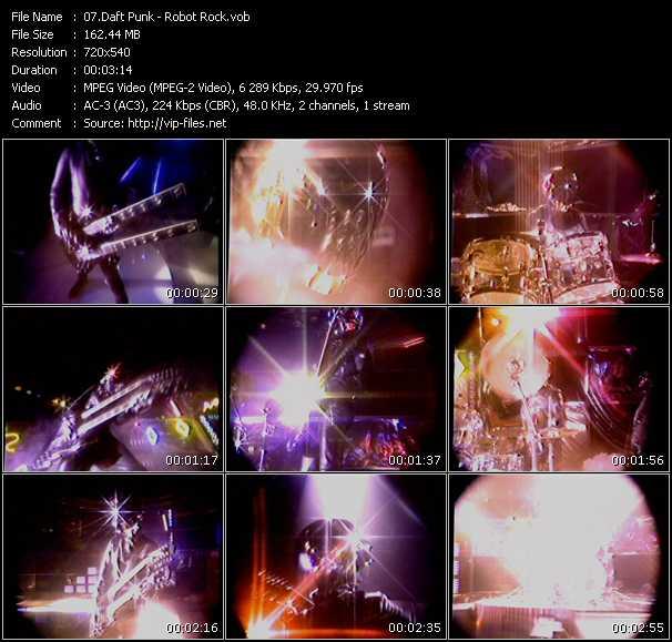 Daft Punk HQ Videoclip «Robot Rock»