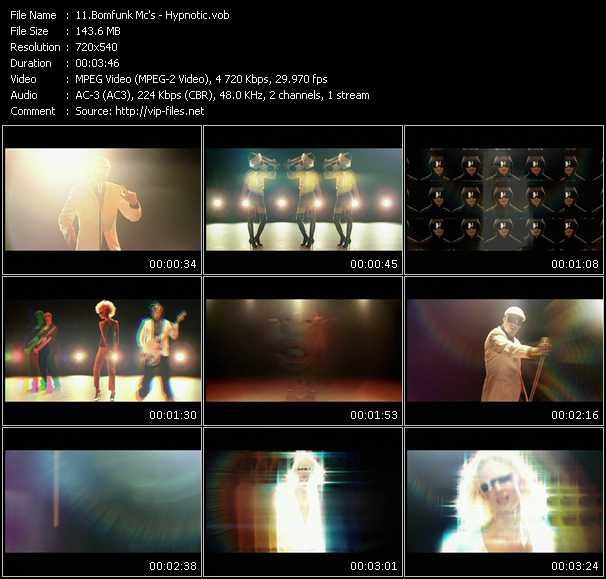 Bomfunk MC's HQ Videoclip «Hypnotic»