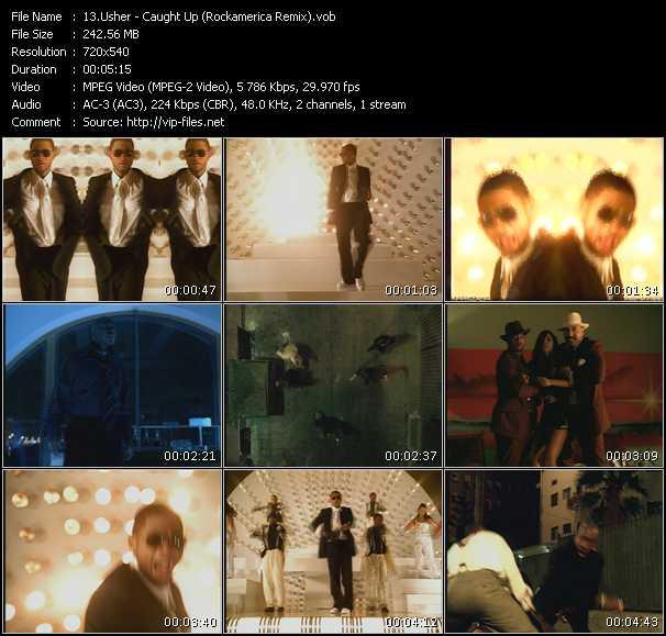 Usher HQ Videoclip «Caught Up (Rockamerica Remix)»