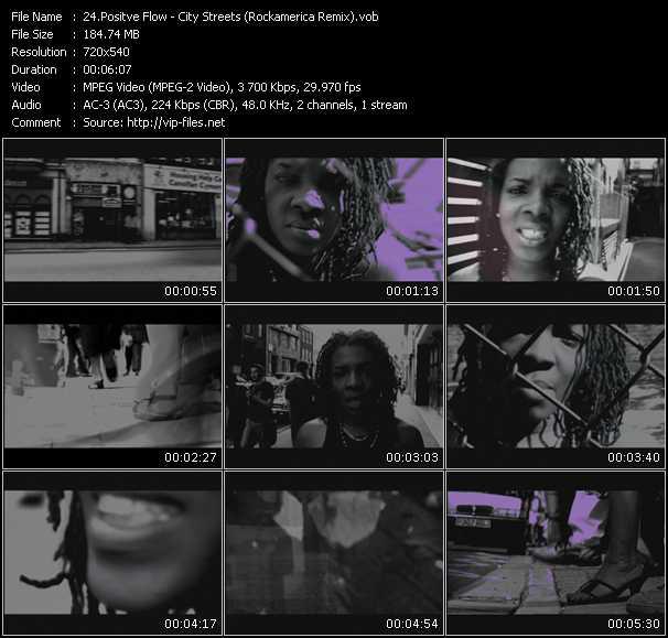 Positve Flow HQ Videoclip «City Streets (Rockamerica Remix)»
