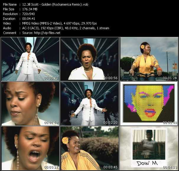 Jill Scott HQ Videoclip «Golden (Rockamerica Remix)»