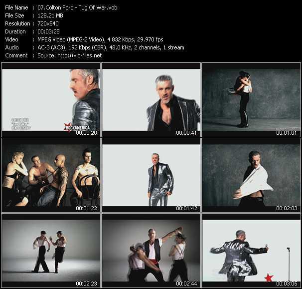 Colton Ford HQ Videoclip «Tug Of War»
