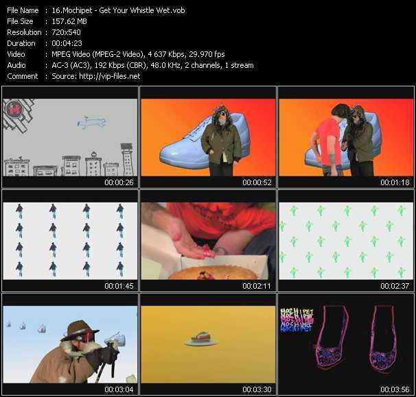 Mochipet HQ Videoclip «Get Your Whistle Wet»