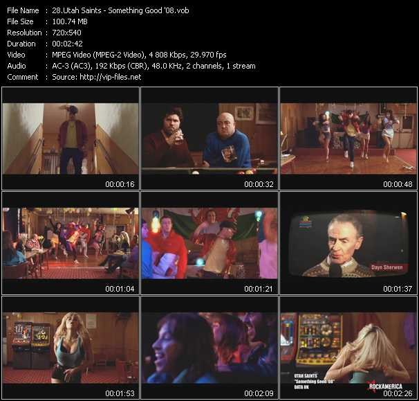 Utah Saints HQ Videoclip «Something Good '08»