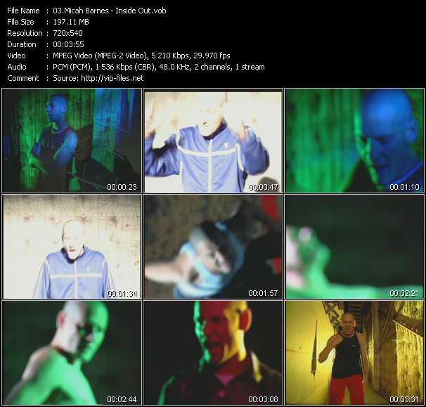 Micah Barnes HQ Videoclip «Inside Out»