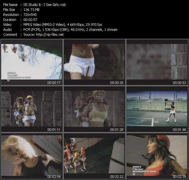 Studio B HQ Videoclip «I See Girls»
