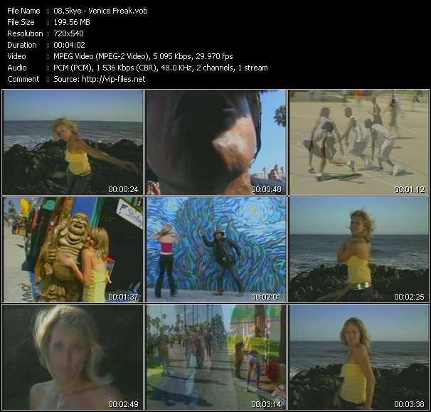 Skye HQ Videoclip «Venice Freak»