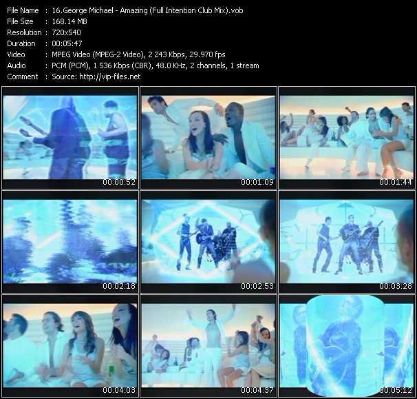 George Michael HQ Videoclip «Amazing (Full Intention Club Mix)»