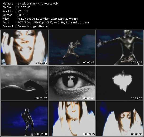 Jaki Graham HQ Videoclip «Ain't Nobody»