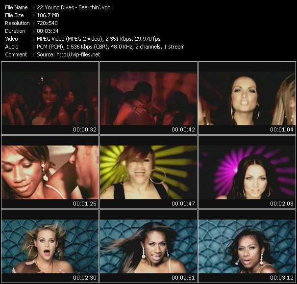 Young Divas HQ Videoclip «Searchin'»