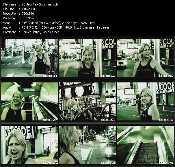 Jacinta HQ Videoclip «Sunshine»