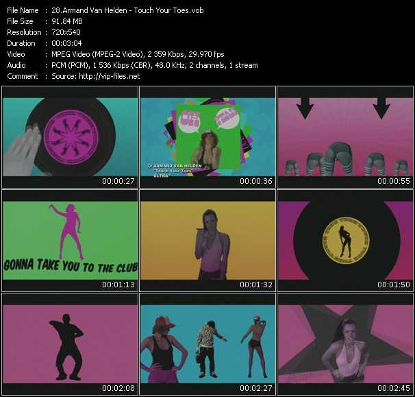 Armand Van Helden HQ Videoclip «Touch Your Toes»