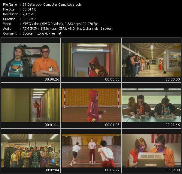 Datarock HQ Videoclip «Computer Camp Love»