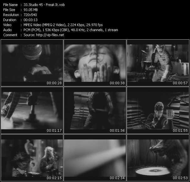 Studio 45 HQ Videoclip «Freak It»