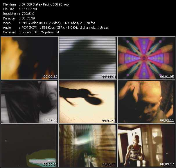 808 State HQ Videoclip «Pacific 808 98»