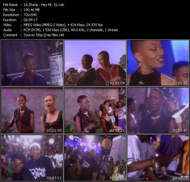 Zhane music video Publish2