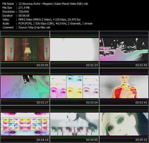 Nouveau Riche HQ Videoclip «Megamix (Julian Marsh Video Edit)»