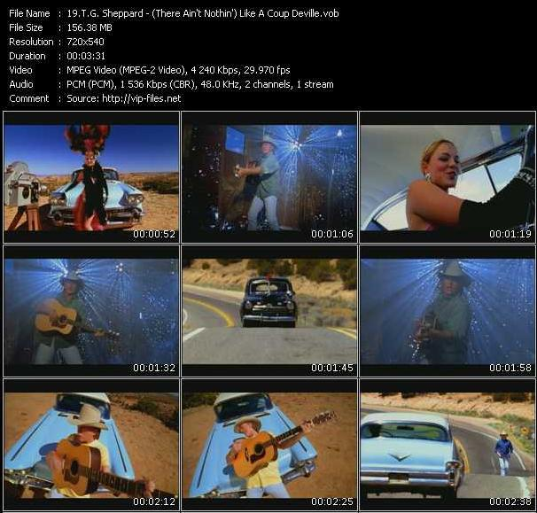 T.G. Sheppard HQ Videoclip «(There Ain't Nothin') Like A Coup Deville»