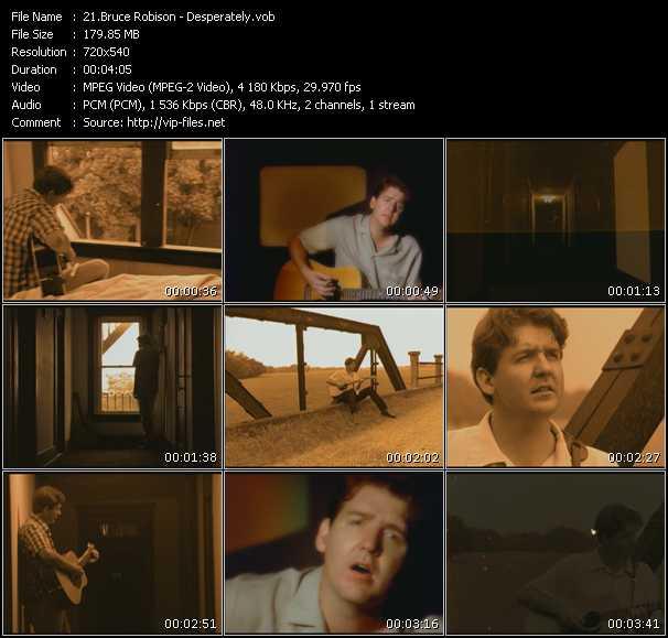 Bruce Robison HQ Videoclip «Desperately»