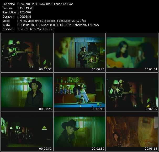 Terri Clark HQ Videoclip «Now That I Found You»
