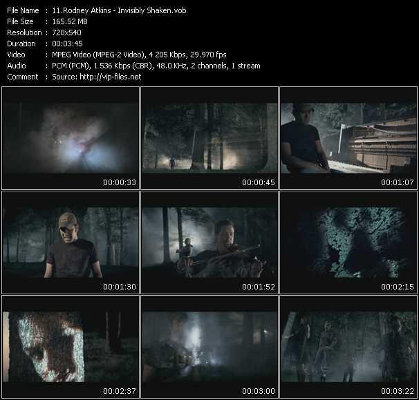 Rodney Atkins HQ Videoclip «Invisibly Shaken»