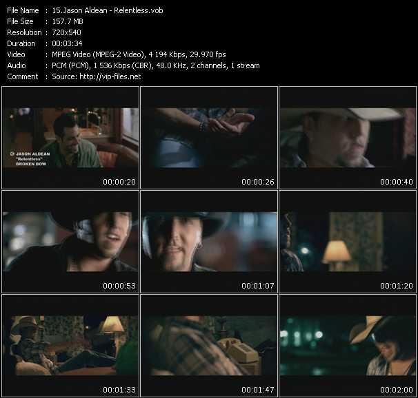 Jason Aldean HQ Videoclip «Relentless»