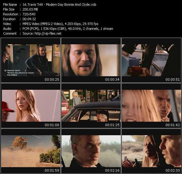 Travis Tritt HQ Videoclip «Modern Day Bonnie And Clyde»